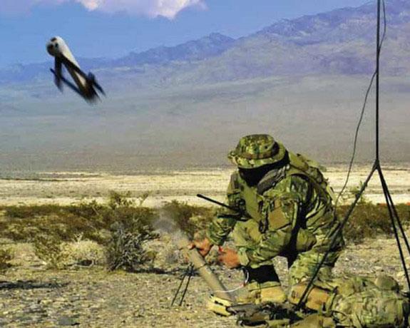 Thế hệ đạn bay Switchblade hiện hành của quân đội Mỹ được thiết kế để lao thẳng vào quân địch và phát nổ.