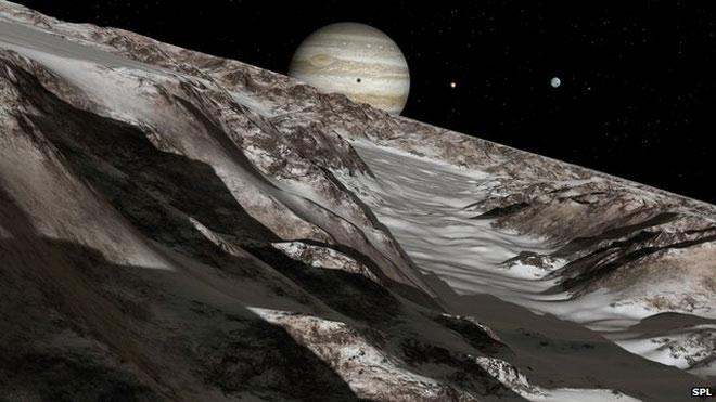 Các nhà khoa học hi vọng trên các mặt trăng của sao Mộc có những điều kiện thuận lợi cho sự sống