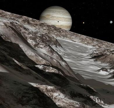 Châu Âu chi bạc tỉ thám hiểm Mộc tinh