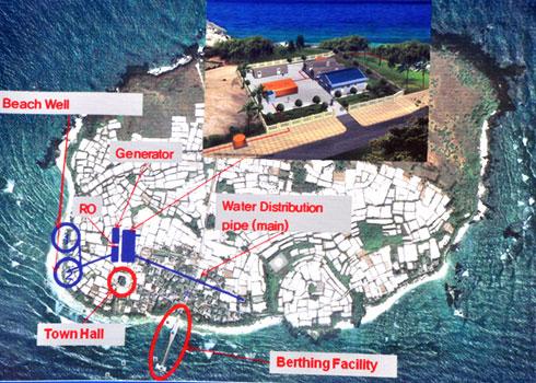 Nhà máy lọc nước biển đầu tiên ở miền Trung