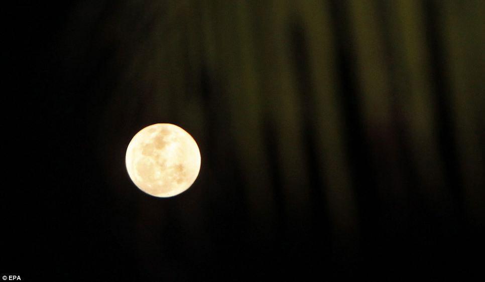 Thủ đô Jakarta của Indonesia là một trong những địa điểm lý tưởng nhất trên thế giới để quan sát siêu trăng vào đêm qua.