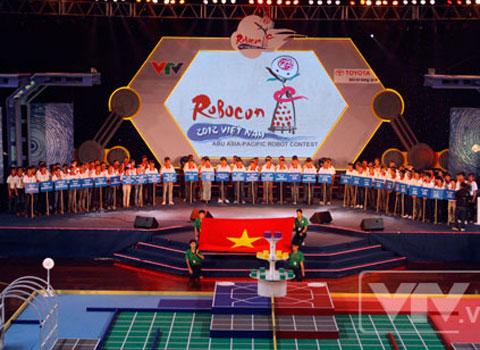 Khai mạc vòng chung kết Robocon