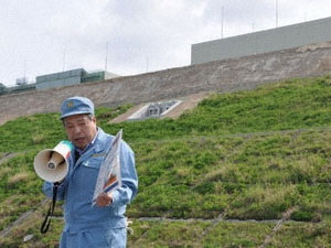 Nhật xây đê chắn sóng thần tại nhà máy Onagawa