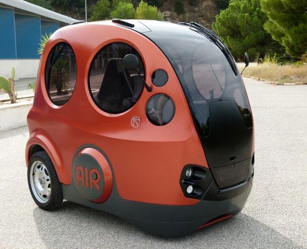 Ấn Độ chế tạo thành công xe hơi chạy bằng khí nén