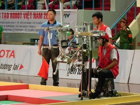 Chung kết Robocon 2012: Lộ diện những đội mạnh