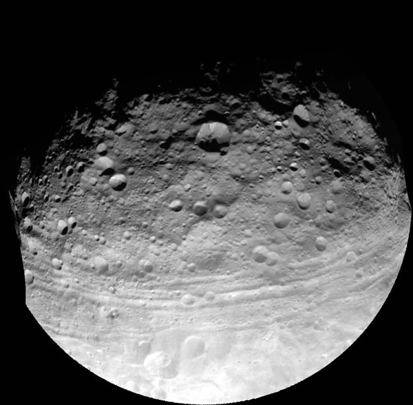 Vesta là hành tinh sơ sinh