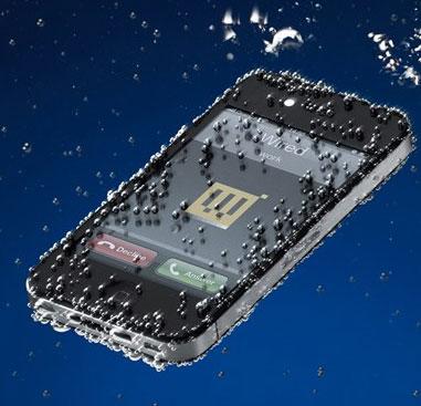 Sáng chế giúp điện thoại ngâm nước thoải mái vẫn khô ráo