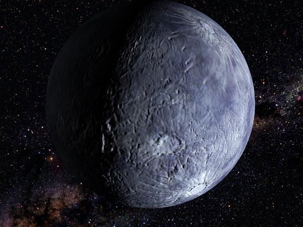 Hình minh họa một thiên thể trong vành đai Kuiper.