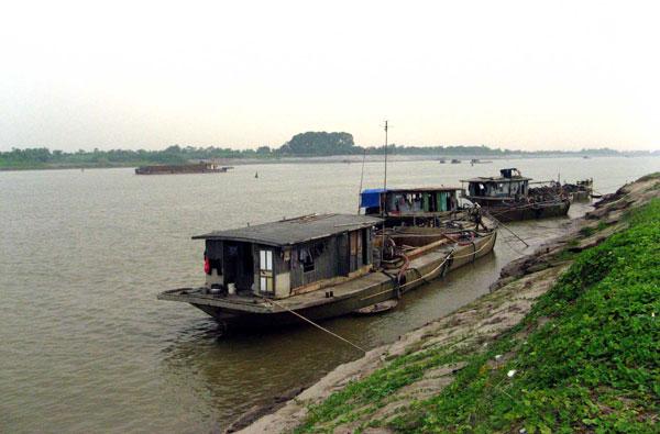 70% diện tích vùng cửa sông Hồng bị nguy hiểm