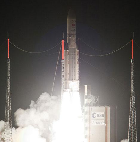 Vinasat-2 đã lên quỹ đạo