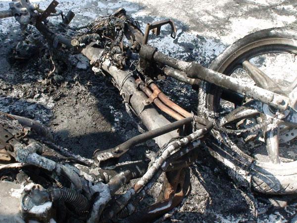 Công bố mới về nguyên nhân cháy xe