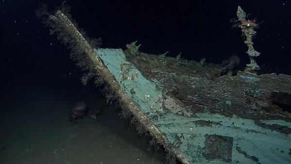 Xác tàu đắm này có niên đại khoảng năm 1.800.