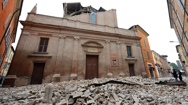 Động đất mạnh tại Italy, 6 người chết