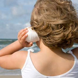 Tại sao lại có tiếng sóng trong vỏ ốc biển?