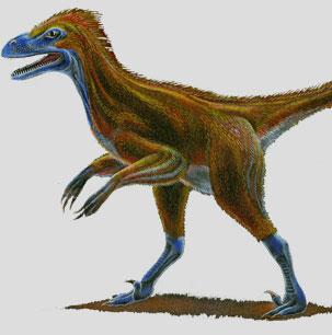 Phát hiện loài khủng long chỉ to bằng chó sói