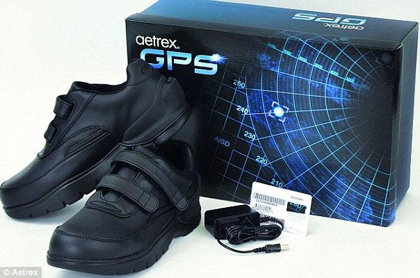 Giày GPS dành cho người mất trí nhớ