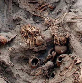 Phát hiện xác ướp trẻ sơ sinh ở Peru
