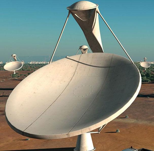 Australia, Nam Phi xây siêu kính viễn vọng