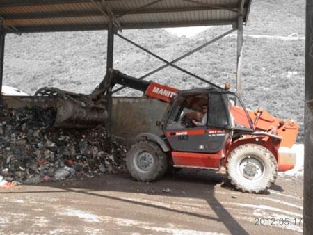 Máy phân loại rác tự động thân thiện môi trường