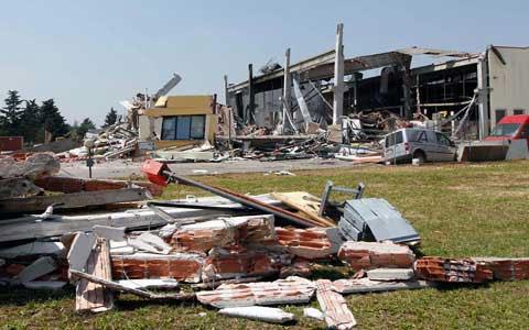 Hình ảnh: Italy tan hoang sau động đất