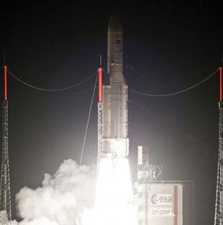 Vinasat-2 đã đi vào đúng quỹ đạo 131,8 độ Đông