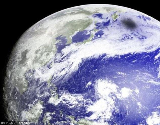 Ngắm ảnh nhật thực chụp từ vệ tinh