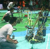 Khởi động vòng chung kết Robocon Việt Nam