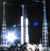 Hình ảnh vệ tinh VNREDSat-1 bay vào vũ trụ