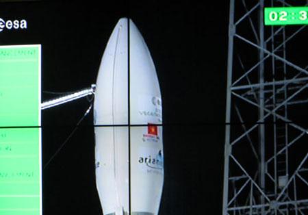 Cận cảnh tên lửa VEGA