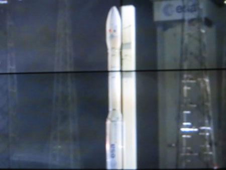 Tên lửa VEGA chính thức rời bệ phóng lúc 9h06' (giờ Hà Nội)