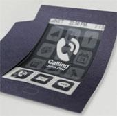 Điện thoại thông minh mỏng như tờ giấy