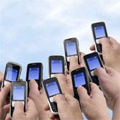 Hành vi dùng điện thoại có thể lây như dịch cúm