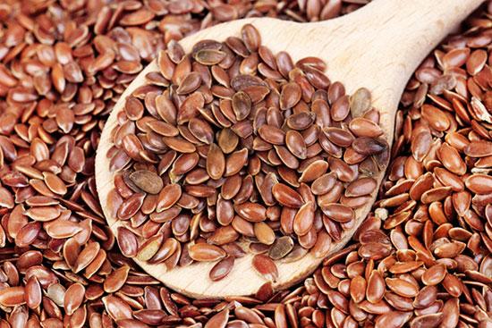 Hạt lanh chứa chất lignan giúp giảm rủi ro ung thư vú