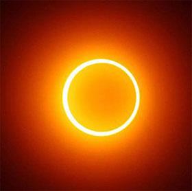 Việt Nam không quan sát được nhật thực đầu tiên của năm