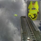 Dù khẩn cấp cho người làm việc trên nhà chọc trời