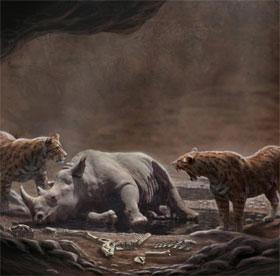 Cạm bẫy tử thần cho loài ăn thịt thời cổ đại