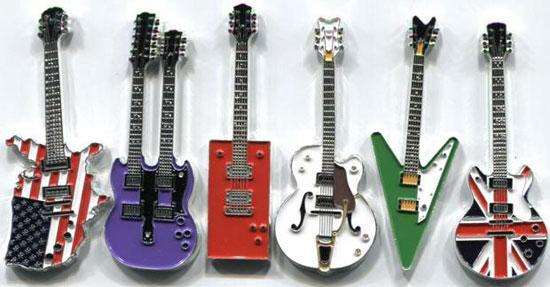 Tiền xu hình đàn guitar