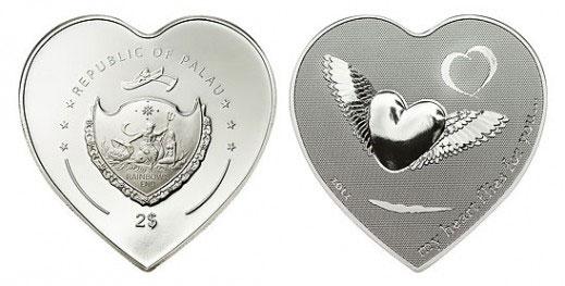 Tiền xu hình trái tim
