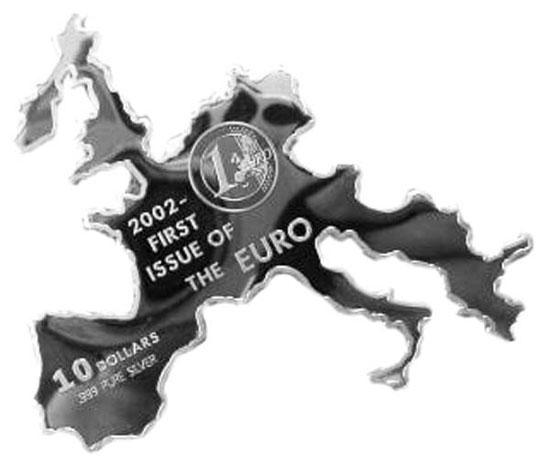Tiền xu mang hình khu vực Châu Âu