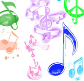 Nghe âm nhạc đoán màu sắc