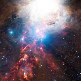 Phát hiện vành đai bụi ở tinh vân Orion