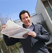 Sản xuất pin mặt trời bằng máy in trên giấy A3