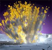 Phát hiện thiên thạch lớn lao vào mặt trăng
