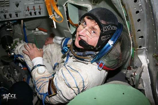 Cứu trái đất bằng du lịch không gian
