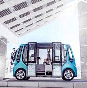 """Ý tưởng xe buýt """"đám mây"""" trong tương lai"""