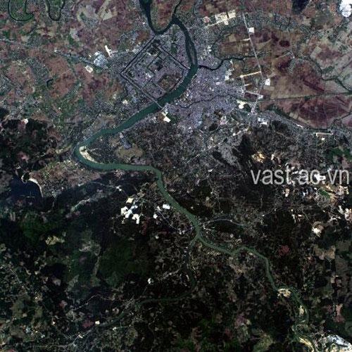 Những hình ảnh mới nhất về Việt Nam chụp từ ngoài vũ trụ