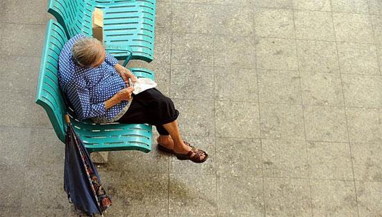 Tỷ lệ người già tự tử tại Singapore là khá cao.