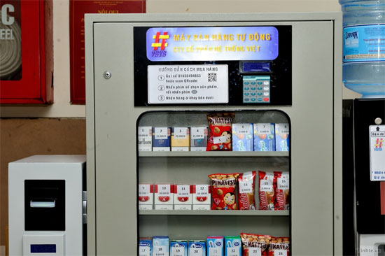 Giải pháp máy bán hàng tự động không tiền mặt tuyệt vời của Việt Nam