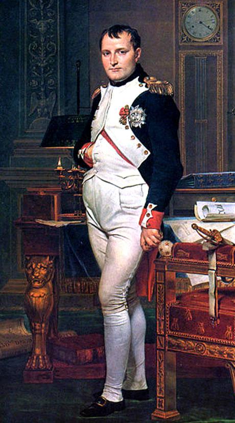 NapoleHọa phẩm Napoleon trong phòng làm việc của Jacques – Louis Davidon Bonabarte