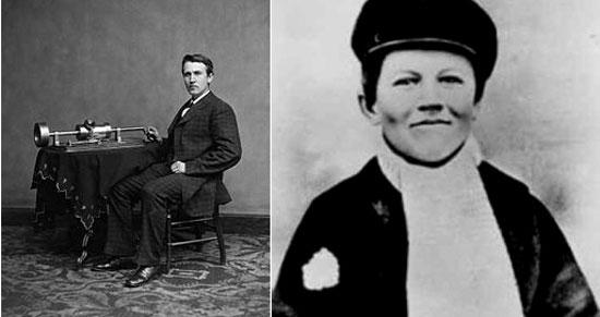 Edison thời trẻ
